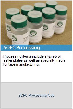 SOFC-Processing
